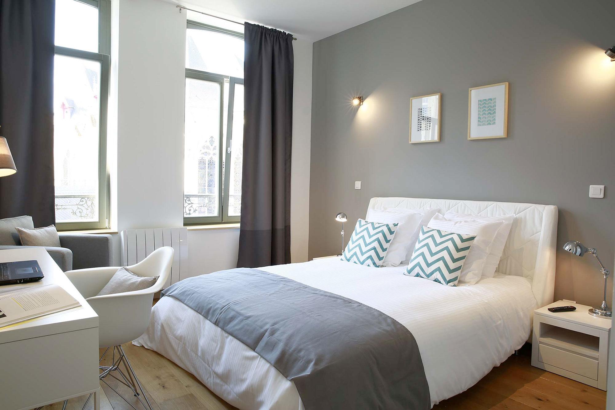 le vendome 19 flandres appart h tel lille. Black Bedroom Furniture Sets. Home Design Ideas