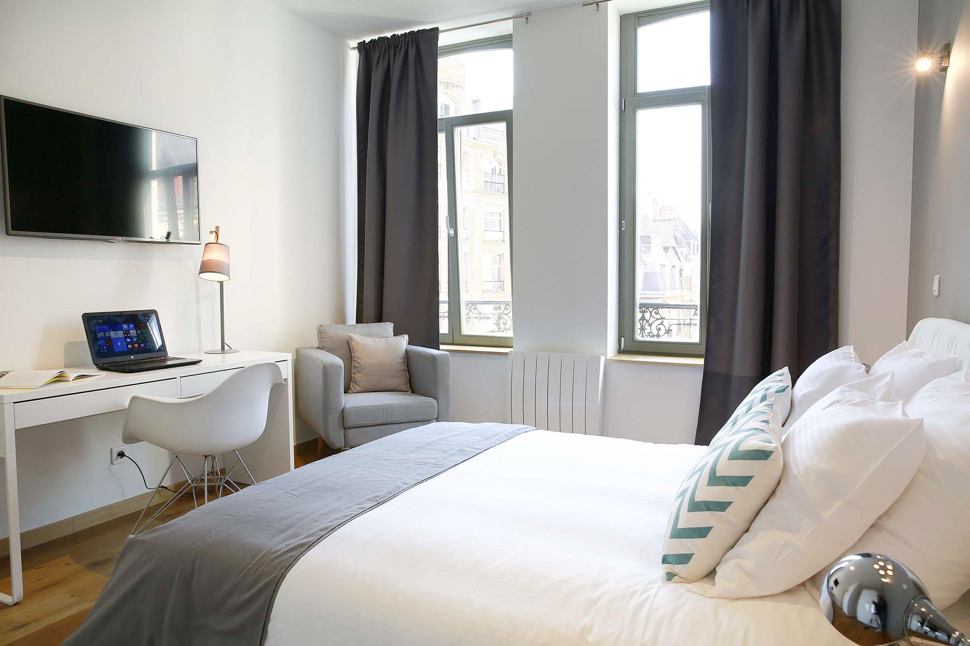 le vendome 21 flandres appart h tel lille. Black Bedroom Furniture Sets. Home Design Ideas