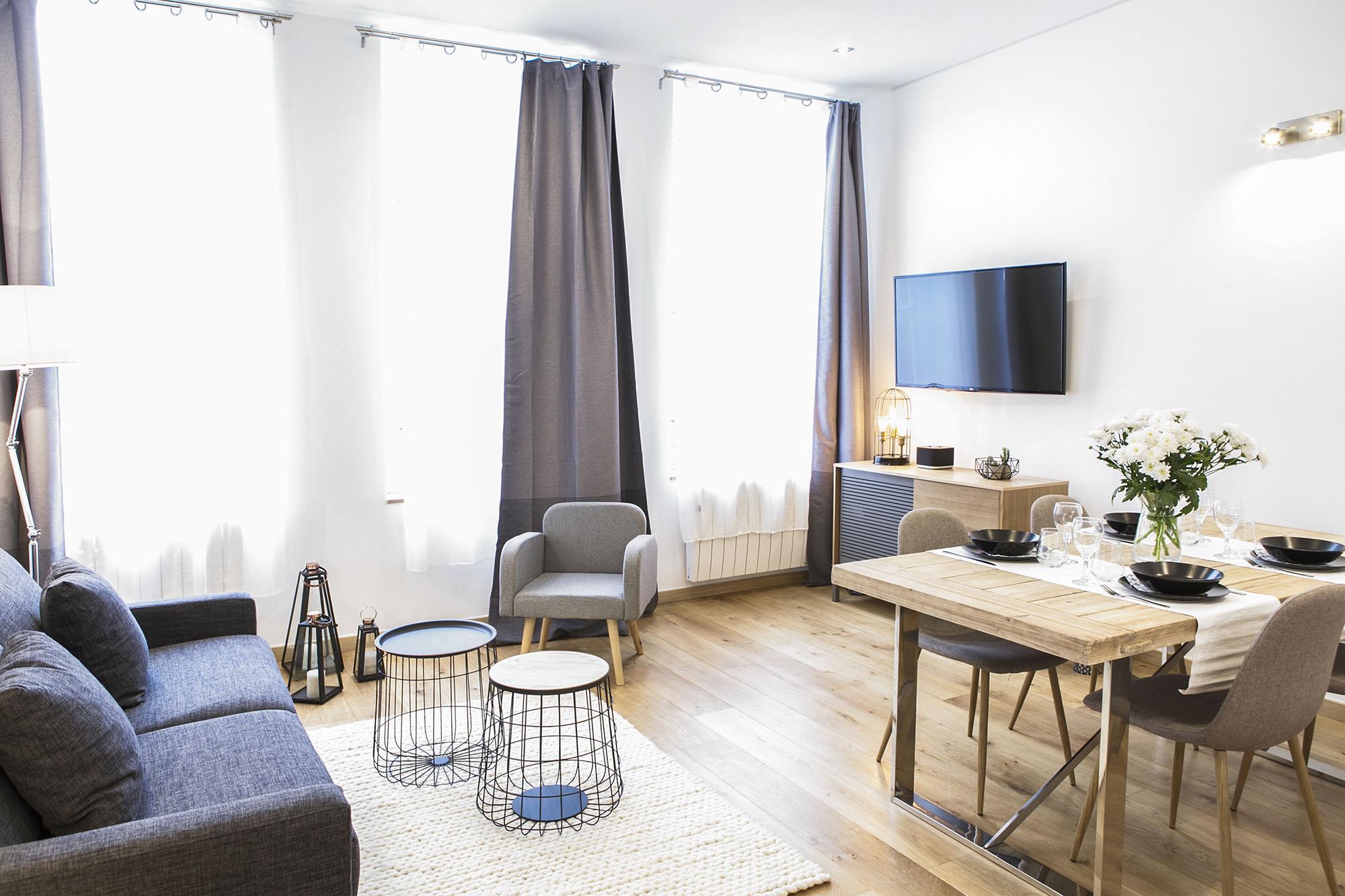 salon 1 flandres appart h tel lille. Black Bedroom Furniture Sets. Home Design Ideas